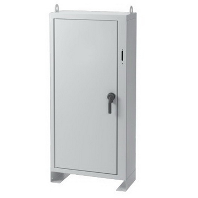 Hoffman A72XN2718FSLP Large Single-Door 3-Point Latch Free-Stand Disconnect Enclosure; 27 Inch Width x 18 Inch Depth x 72 Inch Height, Polyester Powder Painted