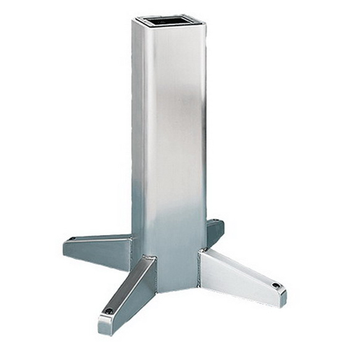 "Hoffman AP36SS Pedestal 14 Gauge 304 Stainless Steel Tube, 7 Gauge 304 Stainless Steel Legs, 8 Inch Width x 8 Inch Depth x 36 Inch Height,"""