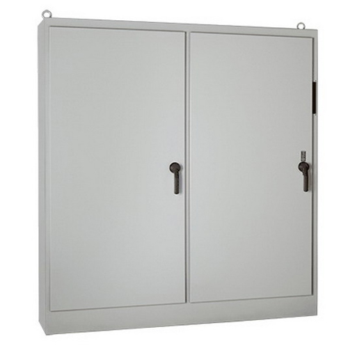 Hoffman A84XM7818FTCLPG-MOD-1024271REV1 Heavy-Duty Double-Door 3-Point Latch Free-Stand Disconnect Enclosure 78 Inch Width x 18 Inch Depth x 84 Inch Height  Polyester Powder-Coated
