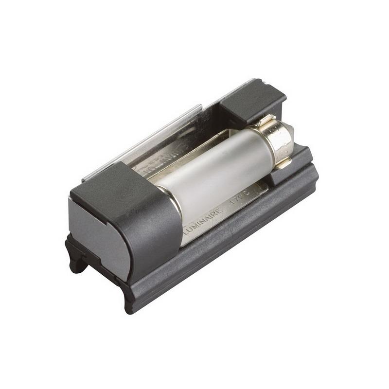Kichler 10216BK Socket With Lamp; 10 Watt, 12 Volt, 2 Inch Length x 0.500 Inch Width x 0.500 Inch Height