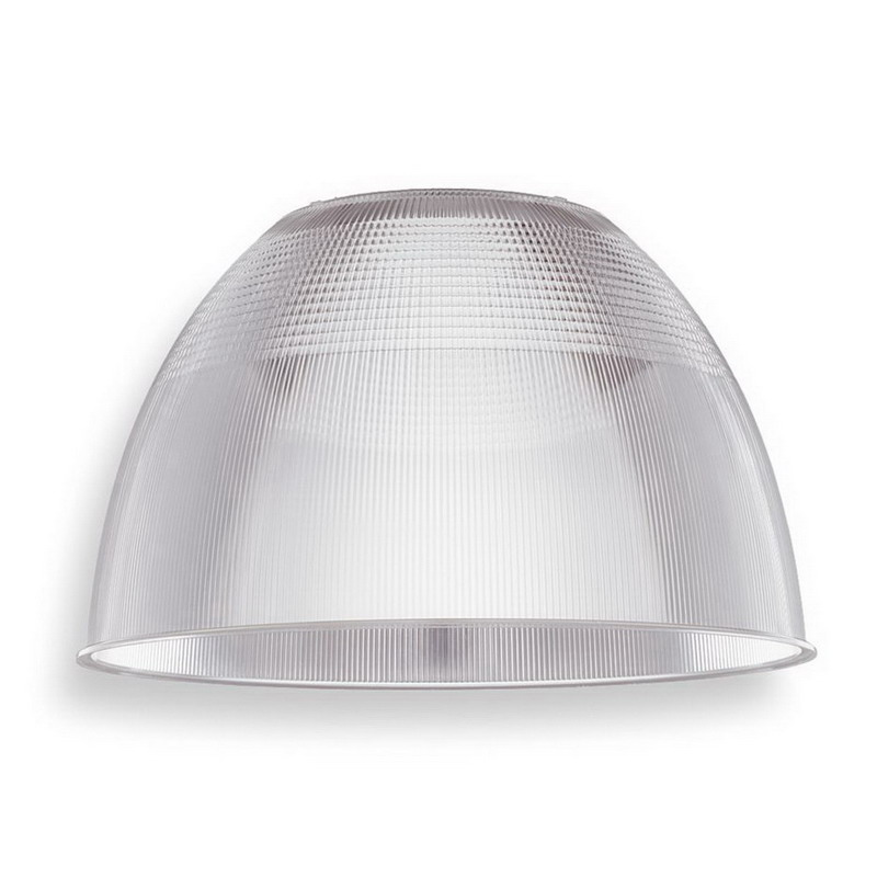 Lithonia Lighting / Acuity PA22 U Prismatic Acrylic Reflector; Die-Cast Aluminum Halves, Acrylic Refractor/Reflector
