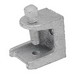 Madison 26 Beam Clamp With Square Head Bolt; 2 Inch, Malleable Iron