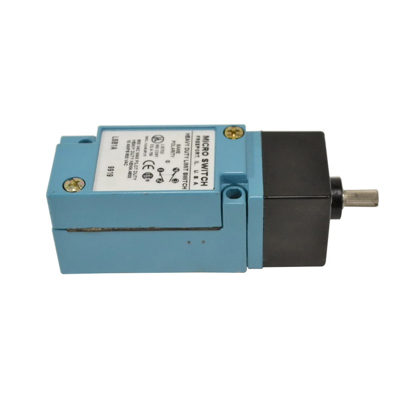 Micro Switch LSB1A Limit Switch; 600 Volt AC, 250 Volt DC, 1 NO/1 NC, SPDT, Top Rotary Actuator