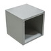 Milbank 242410-SC1-NK SC1C Solid Single Cover Junction Box; 24 Inch Width x 10 Inch Depth x 24 Inch Height, Polyester Powder-Coated, Screw-On Cover