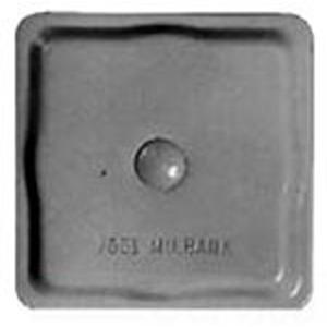 Milbank A9064 Hub Closing Plate; Aluminum