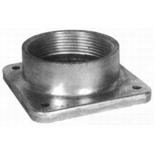 Milbank A7516 Interchangeable Unit Hub; Aluminum
