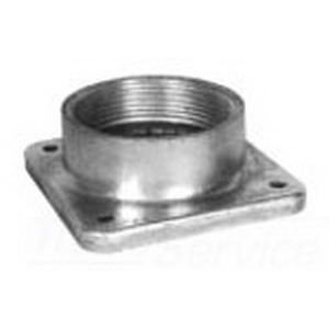 Milbank A7518 Interchangeable Unit Hub; Aluminum