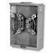Milbank U7487-RL-TG-KK-ALT Meter Socket With Horn Bypass; 600 Volt AC, 125 Amp, 4 Terminal