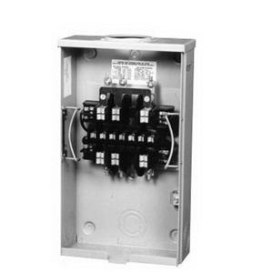 Milbank UC1290-RL-ALT CT Rated Meter Socket; 20 Amp, 5 Terminal