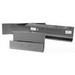 Milbank 8812-GSC1-NK Lay-In Wireway; 12 Inch x 8 Inch x 8 Inch, G90 Gauge Steel, Polyester Powder Painted ANSI 61 Gray