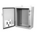 Milbank M12S242408 Single-Door Enclosure; 24 Inch Width x 8 Inch Depth x 24 Inch Height, Polyester Powder-Coated