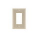 Pass & Seymour SPJ26-I 1-Gang Junior Jumbo Size Decorator Wallplate; Thermoset Plastic, Ivory, Wall Mount