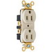 Pass & Seymour PS5262 Heavy-Duty Specification Grade Duplex Receptacle; 125 Volt AC, 2-Pole, 10-14 AWG, Thermoplastic, Brown
