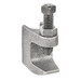 Garvin JFC-1213 Reversible Beam Clamp; 1/2-13, Malleable Iron