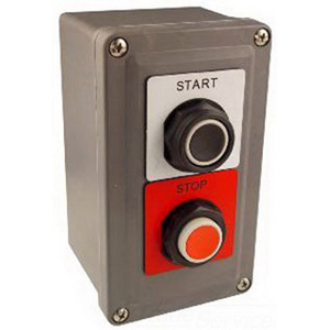 Schneider Electric / Square D 9001SKY223 Control Station Operator 115/240 Volt  2 NO/2 NC  KN101WP/KN102RP Legend  30 mm Mounting Hole