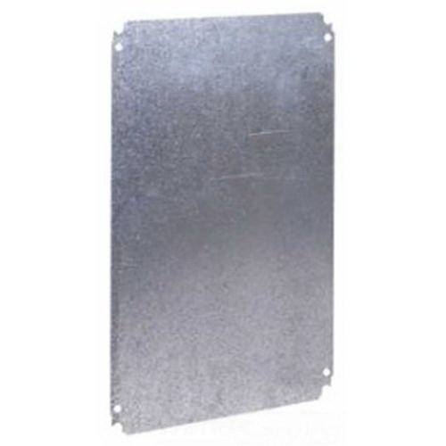 Schneider Electric / Square D NSYMM54 Special S57 Mounting Plate; Sheet Steel, 350 mm Width x 450 mm Height, For Spacial S3D, CRN, S3X, PLM, S57 Wall Mounting 400 mm Width x 500 mm Height Enclosures
