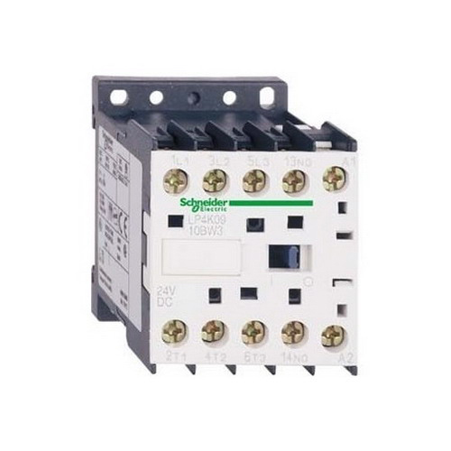 Schneider Electric / Square D LP4K1201BW3 TeSys® K Non-Reversing Contactor; 3 Pole, 12 Amp, 24 Volt DC Coil