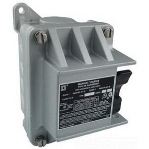 Schneider Electric / Square D 2510FR2 Non-Reversing Manual Starter; 277 Volt AC/230 Volt DC, 2 Pole