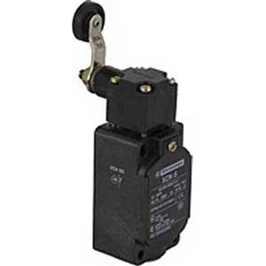 Schneider Electric / Square D XCKS531 OsiSense Limit Switch 3 Amp- 240 Volt AC- 1 NO/1 NC- 30 Degree Cam/Rotary Head/Spring Return Roller Lever Actuator-