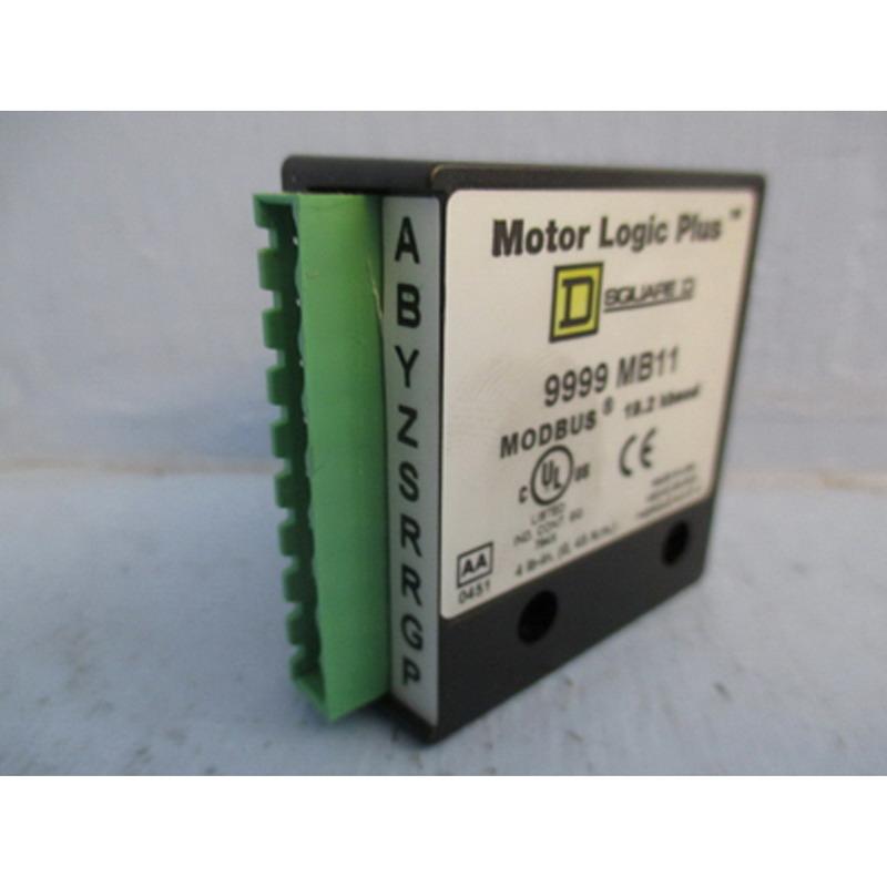 Schneider Electric / Square D 9999MB11 Motor Logic Plus Overload Relay Communication Module; 200 Volt