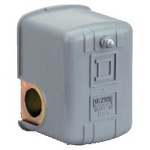 Schneider Electric / Square D 9013FHG19J55 Pumptrol Electromechanical Pressure Switch Diaphragm- 220 psi Destruction-