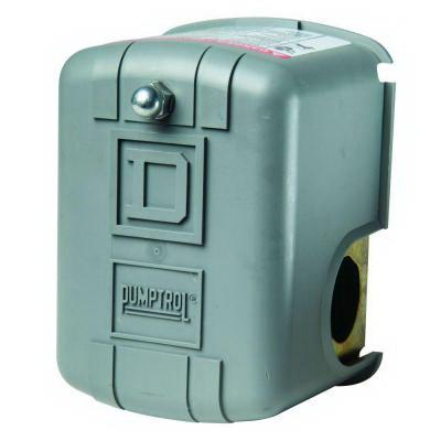 Schneider Electric / Square D 9013FHG24J99X-25-50PSI Pressure Switch; 25 - 50 psi, 40 - 100 psig (Adjustable Cut-Out)