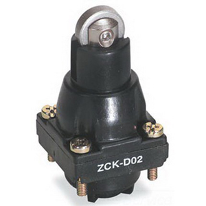 Schneider Electric / Square D ZCKD02 OsiSense® Limit Switch Head and Metal Roller Plunger; Plastic
