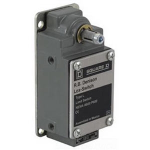 Schneider Electric / Square D L100WNC2M18 Limit Switch; 20 Amp, 600 Volt, 1 NC/NO, DPST-NC-DB, From Left or Right/Rotary Head Actuator