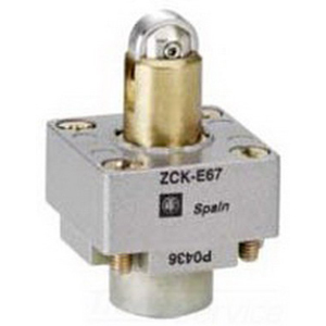 Schneider Electric / Square D ZCKE67 Osiswitch® Limit Switch Head; Roller Plunger Spring Return, For XCKJ Limit Switches
