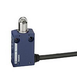 Schneider Electric / Square D XCMN2102L1 OsiSense® Limit Switch; 5 Amp, 240 Volt AC, 250 Volt DC, 1 NO/1 NC, 30 Degree Cam/Spring Return Roller Plunger Actuator