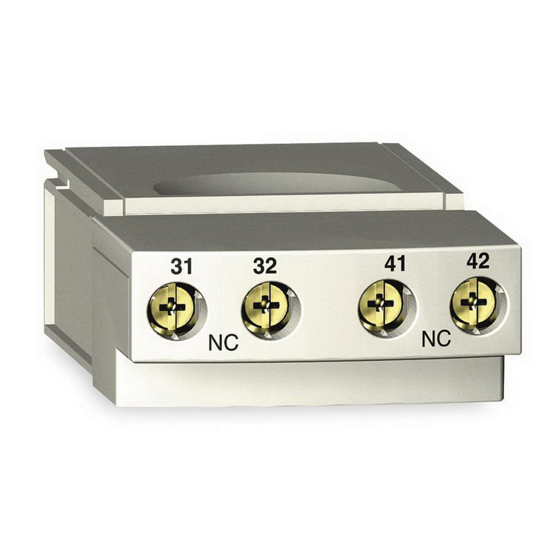 Schneider Electric / Square D  LUFN11 TeSys® Auxiliary Contact Module; 600 Volt AC, 250 Volt DC, 5 Amp, 1 NO/1 NC, Plug-In Mount