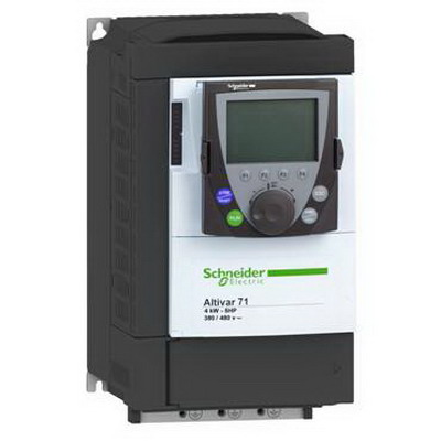 """""Schneider Electric / Square D ATV71HU30N4 Altivar 71 Constant Torque Variable Speed AC Drive 7.8 Amp, 3 Phase, 4 hp,"""""" 99861"