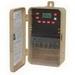 NSI EW101B Tork® EW Series 1 or 2 Channel On-Off Digital Time Switch; 40 Amp, 120/277 Volt, 50/60 Hz, 1-Pole, Plastic, Tan