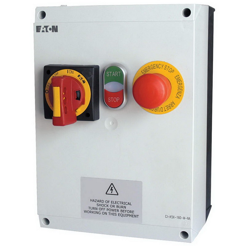Eaton / Cutler Hammer EMS02H5ABN All-In-One EMS Panel 120 Volt AC  16 – 20 Amp Full Load