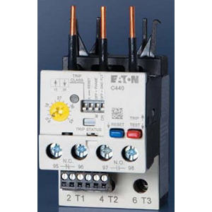 Eaton / Cutler Hammer C440A1A005SF0 Electronic Standard Overload Relay; 1 - 5 Amp, For Direct Mount to Freedom Series Contactors