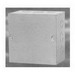 Wiegmann SCF1218 Flush Cover; 14 Gauge Carbon Steel, ANSI 61 Gray, For Use as a Junction Box and Pull Box in Commercial and General Industrial Applications