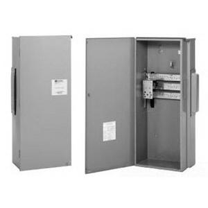 Eaton / Cutler Hammer 3MTB400R Terminal Box; 400 Amp, 120/208 Volt AC, Aluminum