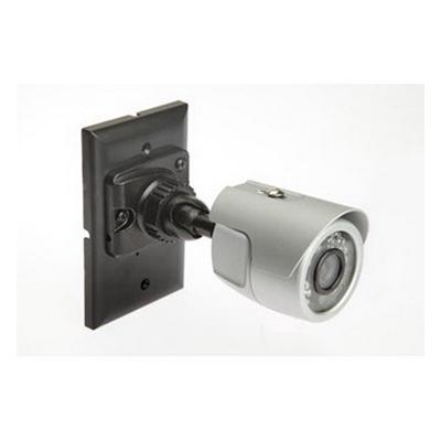 """""On-Q CM1029 512X492 Waterproof Color IR Camera Kit 420 TVL, NTSC 510 x 492. PAL 500 x 582 Effective Pixels, 3.6 mm at F2.0 Lens, 1-Gang Box Mount, Gray,"""""" 44481"