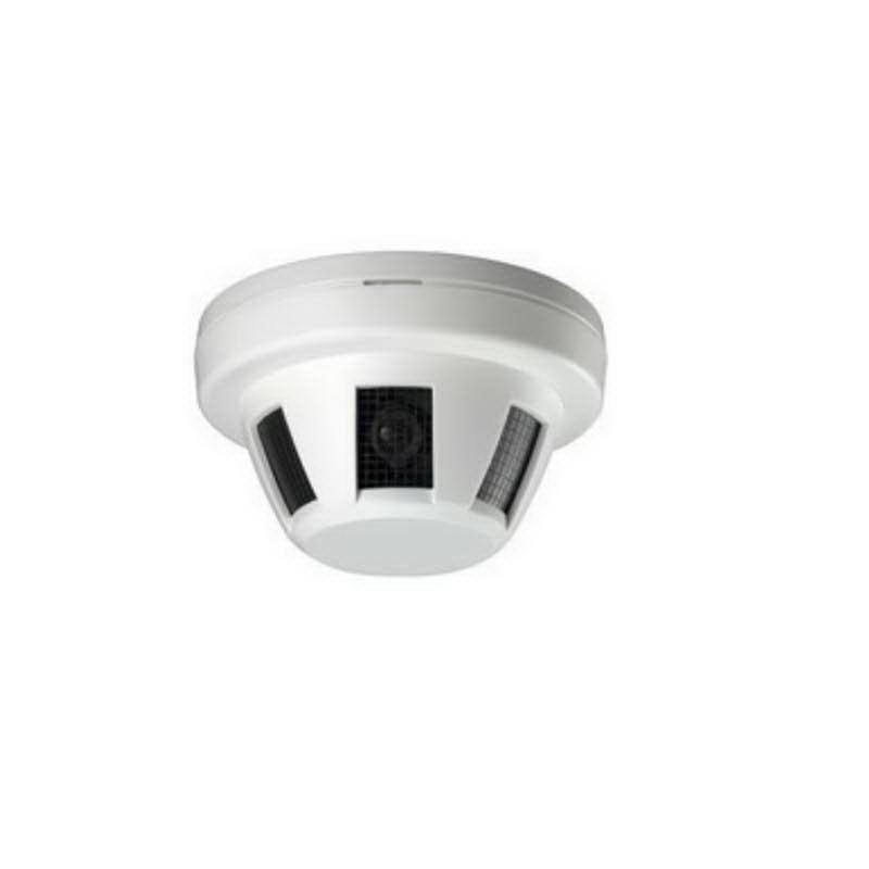 Luxon CVTSMOKE600 Smoke Detector Covert Camera ; 600 TVL, Fixed 3.8 mm Pinhole Lens