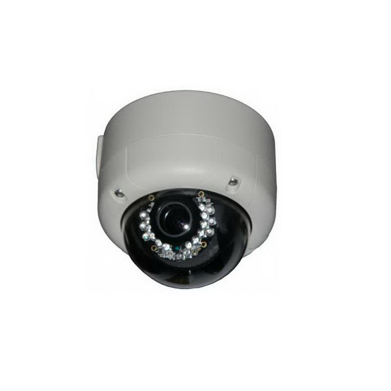 """""Luxon MIPVD1600V Weatherproof IP Dome Camera 2 Mega-Pixel, 1600 x 1200 Effective Pixels, 2.7 - 9 mm Mega Pixel Vari-Focal Lens,"""""" 633088"