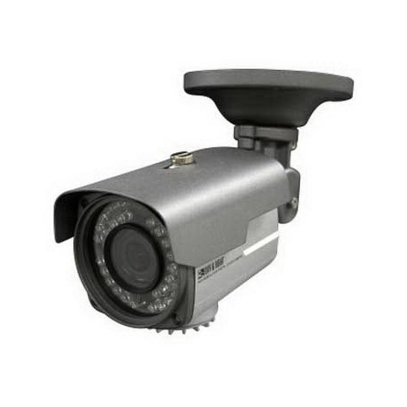 """""Luxon BIR6V1 Weatherproof IR Bullet Camera 600 TVL Color/700 TVL B/W, 2.8 - 12 mm Vari-Focal Lens,"""""" 641689"