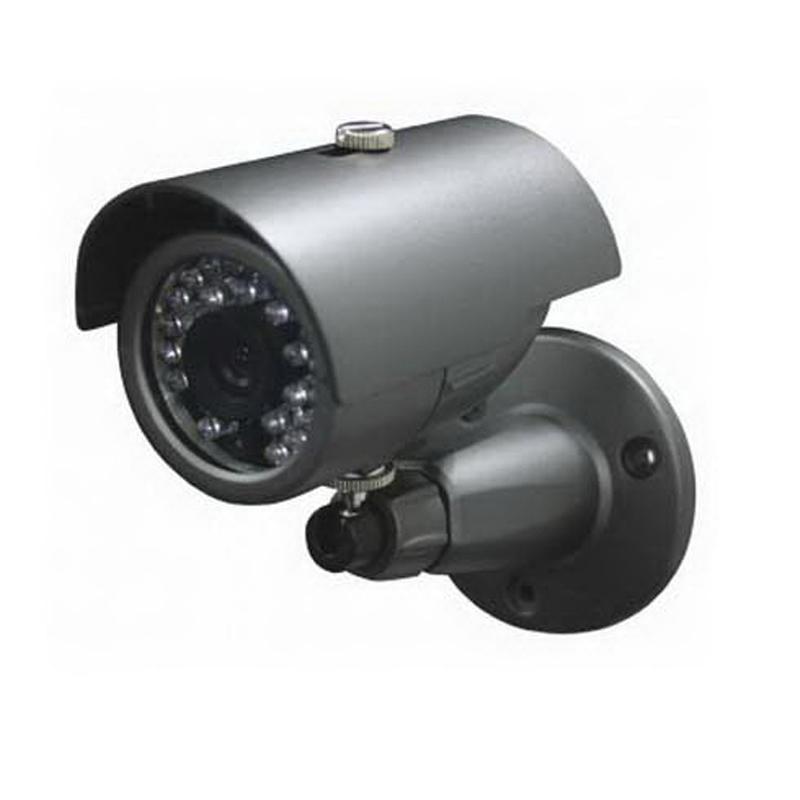 """""Luxon BIR61 Weatherproof IR Bullet Camera 600 TVL Color/700 TVL B/W, 3.6 mm Lens,"""""" 641690"