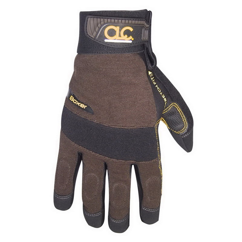 L.H. Dottie 135X Boxer™ High Dexterity Gloves; Black/Brown, Synthetic Leather, X-Large