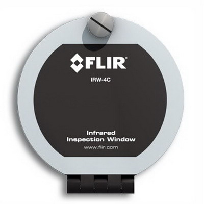 FLIR Extech IRW-4C 4 Inch Infrared Inspection Window Calcium Fluoride Optic