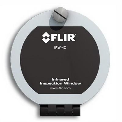 FLIR Extech IRW-4C 4 Inch Infrared Inspection Window Calcium Fluoride Optic