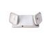 Exitronix LL-90 2-Light Fully Adjustable Double Head Emergency Lighting Unit; 11 Watt, 120/277 Volt, Lead-Acid Batteries, Wall/Ceiling Mount, Thermoplastic, White