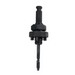 Lenox 1779803 Holesaw Arbor; 4L, 1/4 Inch 3 Sided Shank, 1/2-20 Thread, Fits 9/16 - 1-3/16 Inch Holesaw
