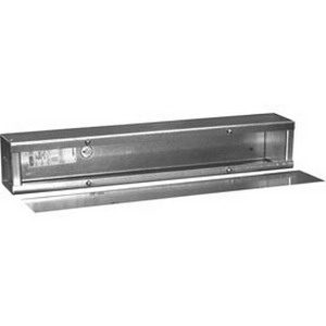 Hoffman A1212120T1T Wiring Trough; 120 Inch x 12 Inch x 12 Inch, 14 Gauge Painted Steel