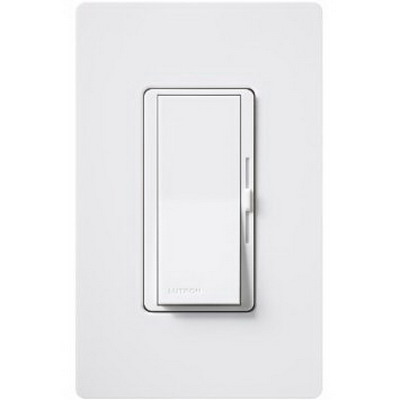 Lutron DVELV-303P-BR Diva® 3-Way Electronic Low-Voltage Preset Dimmer with Nightlight; 300 Watt