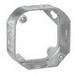 Thepitt TP318 Octagonal Outlet Box; 2-1/8 Inch Depth, Steel, C-Bracket Mount, 21.5 Cubic-Inch